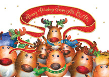 Reindeer Cheer Holiday Cards